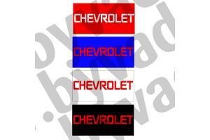 Cache plaque immatriculation US Chevrolet