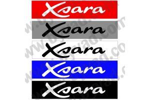 Cache plaque immatriculation Citroen Xsara