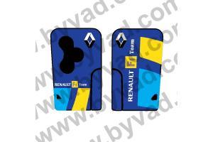 Sticker carte Renault 3 boutons Mégane R25 F1 Team