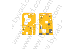 Sticker carte Renault 3 boutons Renault Sport R26