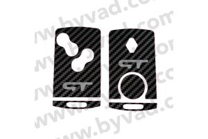 Sticker carte Renault 4 boutons Renault Sport GT