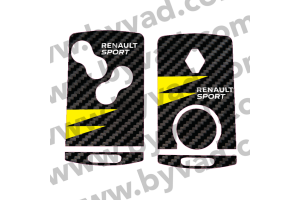 Sticker carte Renault 4 boutons RS 18