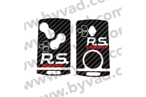 Sticker carte Renault 4 boutons RS TROPHY