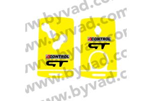 Sticker carte Renault 4 boutons Renault Sport GT 4 CONTROL