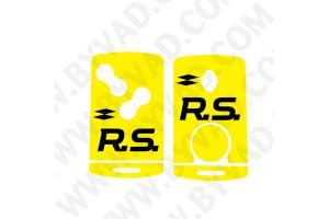 Sticker carte Renault 4 boutons Renault Sport RS