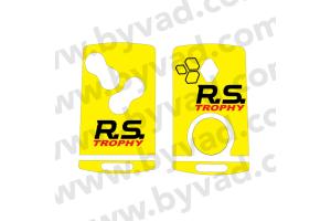 Sticker carte Renault 4 boutons Renault Sport Trophy