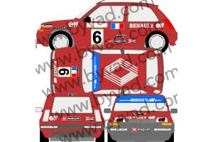 Kit déco Renault 5 GT Coupe