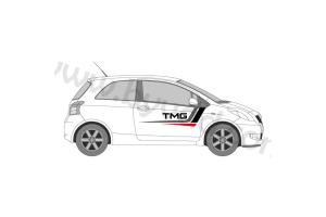 Stripping Toyota Motorsport GMBH