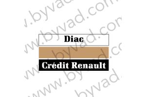 Sticker Diac Crédit Renault
