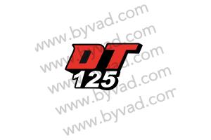 Deux autocollants DT 125