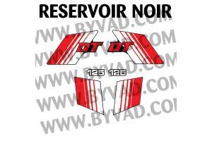 Kit sticker Yamaha DTMX 125 Enduro 1981 à 1985
