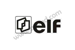 Autocollant ELF monochrome