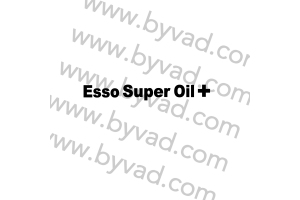 Sticker Esso Super Oil + pour aileron Delta