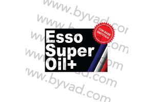 Sticker ESSO SUPER OIL +