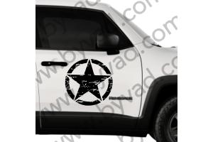 Sticker Etoile US ARMY