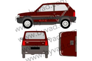Kit complet Fiat Panda 4x4 Val D'isère 1992