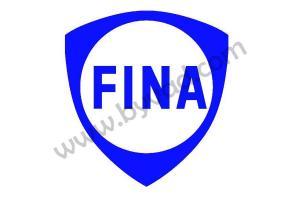 Autocollant  FINA x 2