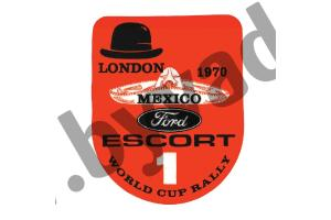 Stickers Ford Mexico
