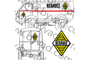 Kit déco Assistance Renault Goelette