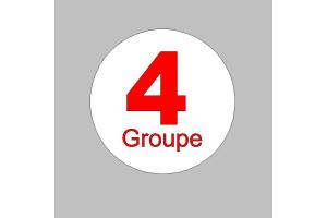 2 Stickers Groupe 4