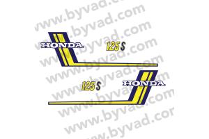 Kit moto autocollants complet HONDA CB 125 S3