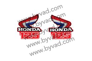 Sticker Moto Honda CR125 1986