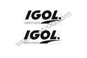 2 Stickers IGOL