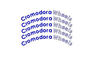 Kit 5 stickers de jante Cromodora Wheels