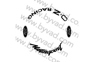 Kit 4 stickers de jante OZ FORD MOTORSPORT