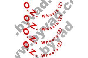 Kit 10 stickers de jante OZ WHEELS (Z)