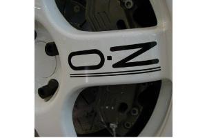 Kit 5 stickers de jante OZ