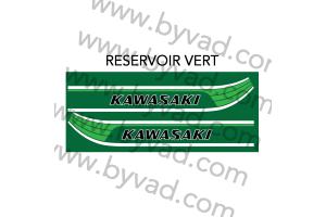 Kit stickers Kawasaki 125 KE 1978