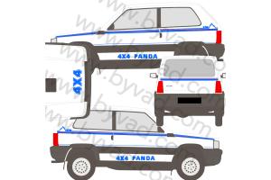 Kit complet Fiat Panda 4x4 Val D'isère