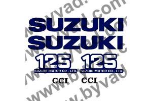 Kit stickers Suzuki 125 TS 1977