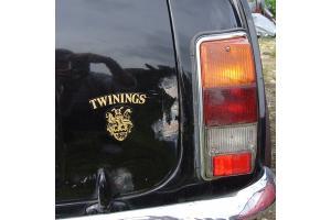 Kit 3 stickers Austin mini Twinings