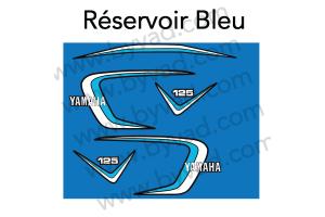 Kit sticker Moto Yamaha 125 RDX 1E7 1979 1980 1981 1982