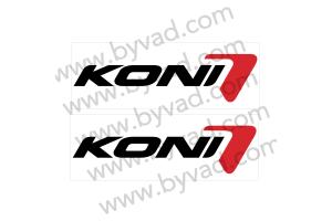 2 Stickers KONI