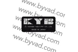 Autocollants KYB 27 mm pour Moto