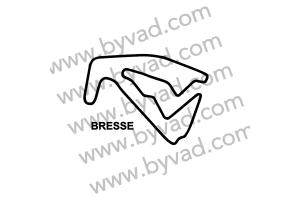 Sticker Circuit La Bresse