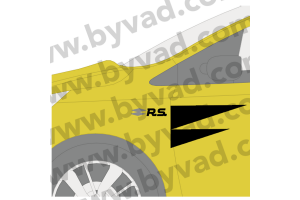 Stickers latéraux style RS18