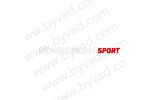 Lettrage Peugeot Talbot Sport