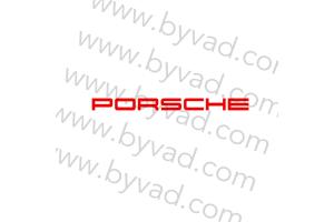 Autocollant de pare brise Porsche