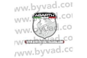 Sticker ABARTHASSETTOCORSE.com