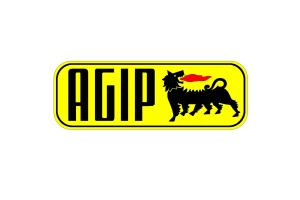 2 Stickers Agip