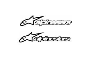 2 stickers Alpinestar