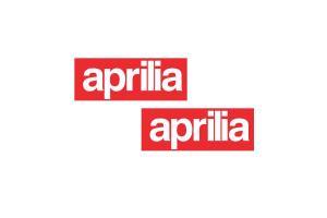 Kit 2 stickers APRILIA