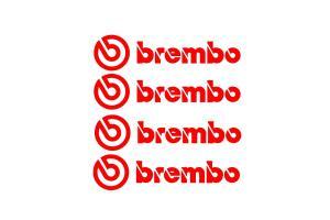 4 Stickers Brembo