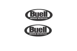 Kit 2 stickers Buell
