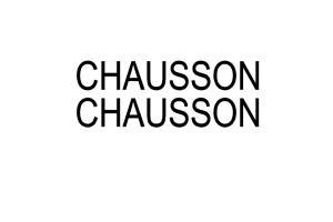 Autocollant  CHAUSSON x 2