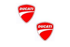 Kit 2 stickers DUCATI